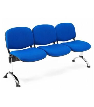 Bancada tapizada de 3 asientos BANCADA TAPI-3