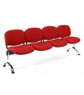 Bancada tapizada de 4 asientos BANCADA TAPI-4