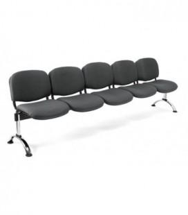 Bancada tapizada de 5 asientos BANCADA TAPI-5
