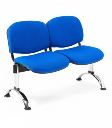 Bancada tapizada de 2 asientos BANCADA TAPI-2