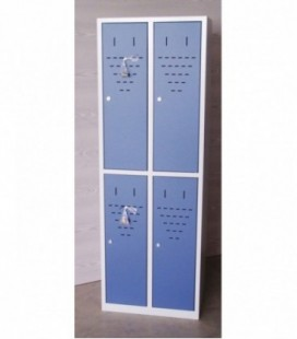 Taquilla 4 puertas medias de 30 cms