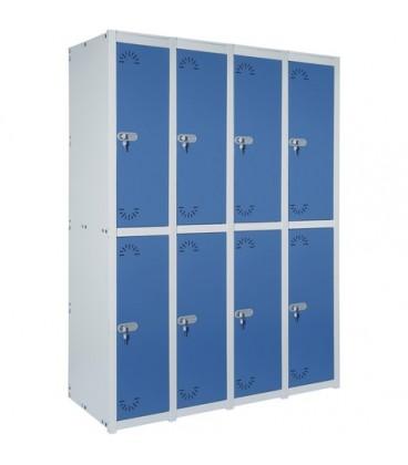Taquilla 8 puertas medias de 30 cms