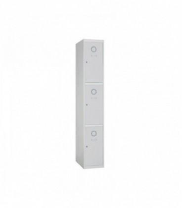 Taquilla 3 puertas medias de 30 cms