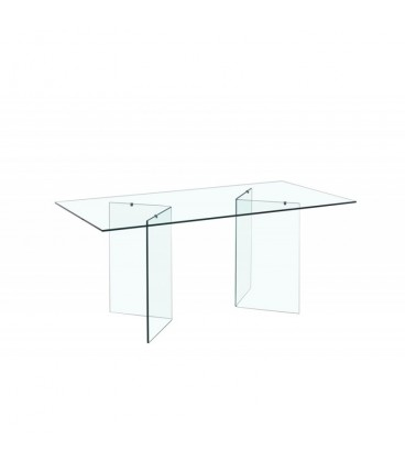 Mesa de cristal 180 x 90 cms, OTISH