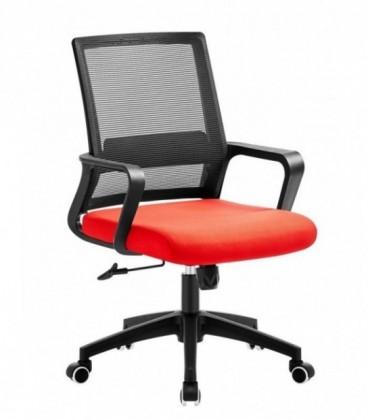 Sillón de oficina, malla y tejido color CLIFFORD