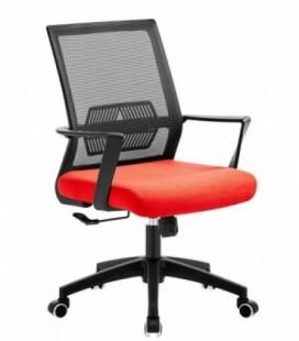Sillón de oficina, respaldo de malla color RISLEY