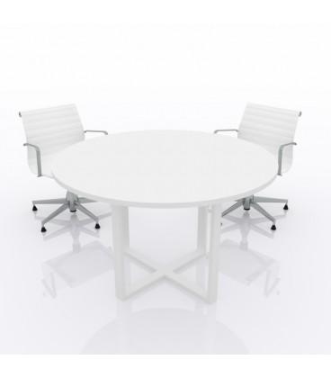 Mesa de reunión Ofimeet Round ML