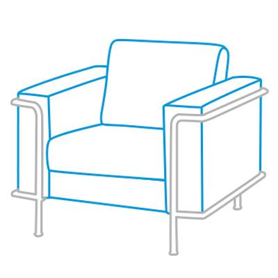 Sofás y sillones de recepción